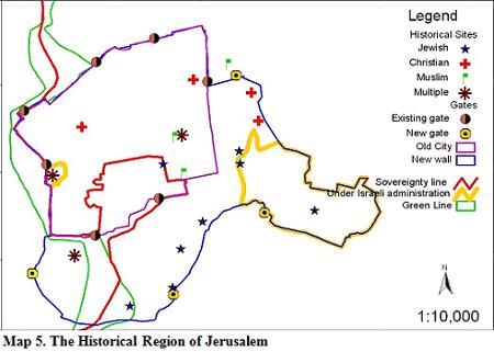 Maps - Jerusalem Similiar Map Of