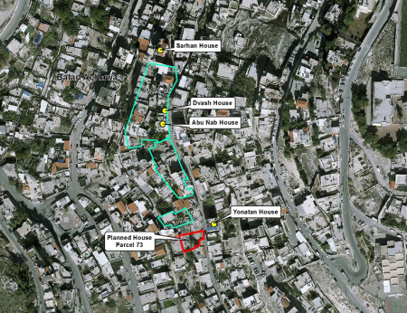 Silwan-parcel73-map