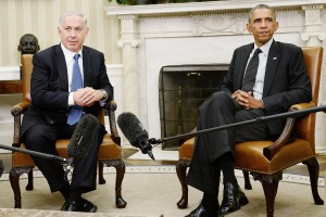 Barack Obama Meets with PM Netanyahu of Israel